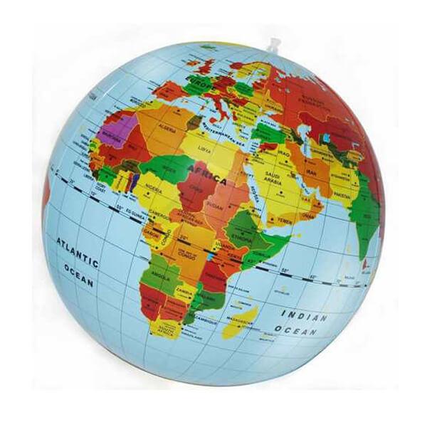 Tiger Tribe World Globe