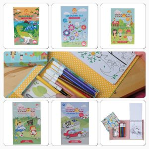 Tiger Tribe Piccolo Colouring Sets